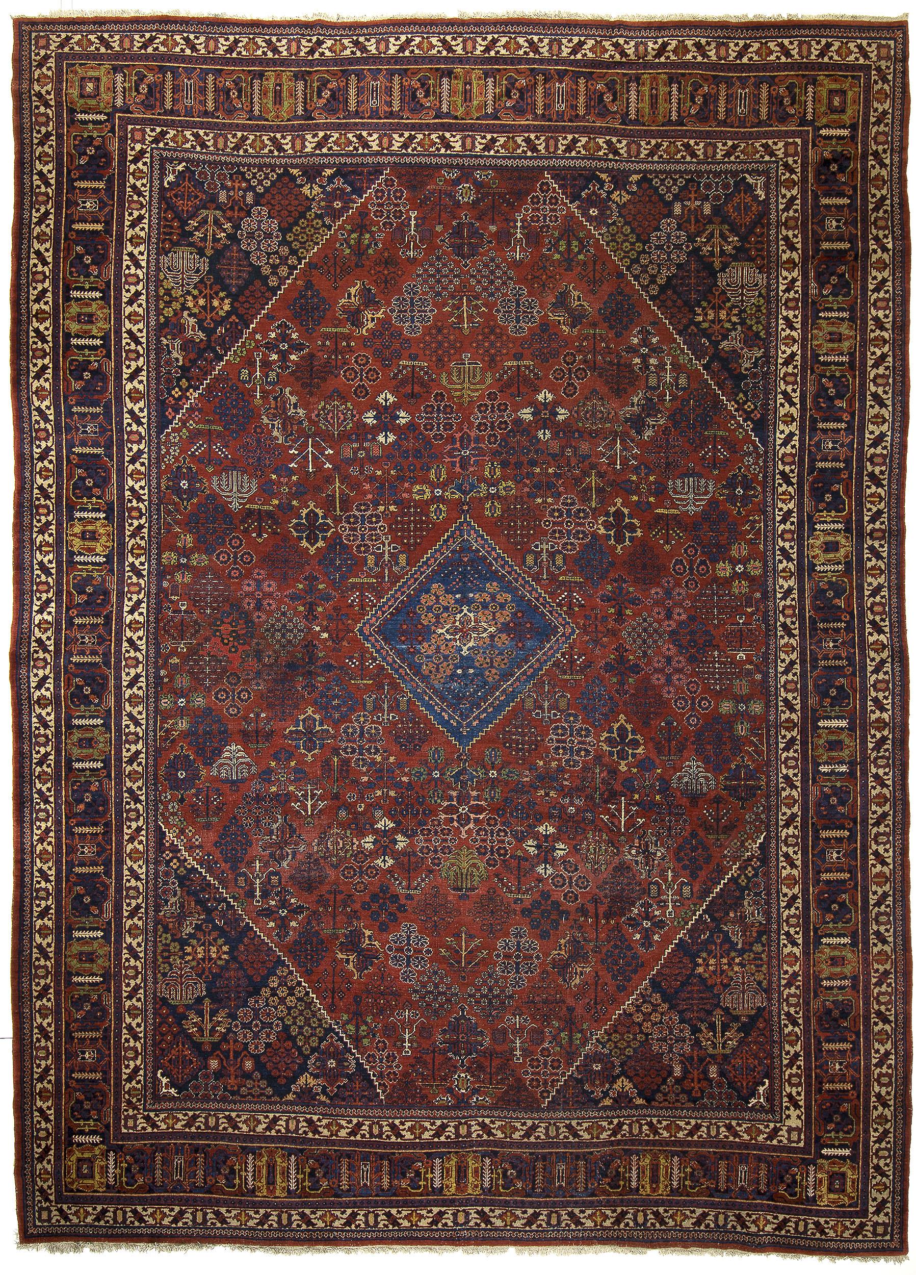 "Joshaghan Carpet 16' 7"" x 12' 2"""