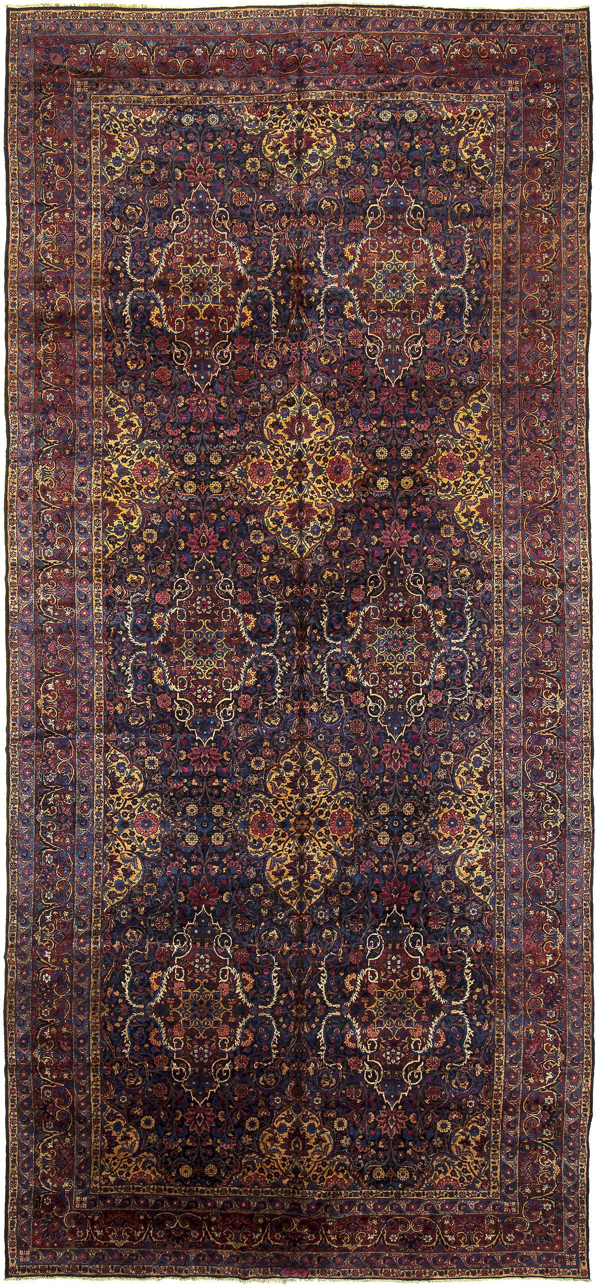 """Kerman Carpet 21' 5"""" x 9' 9"""""""
