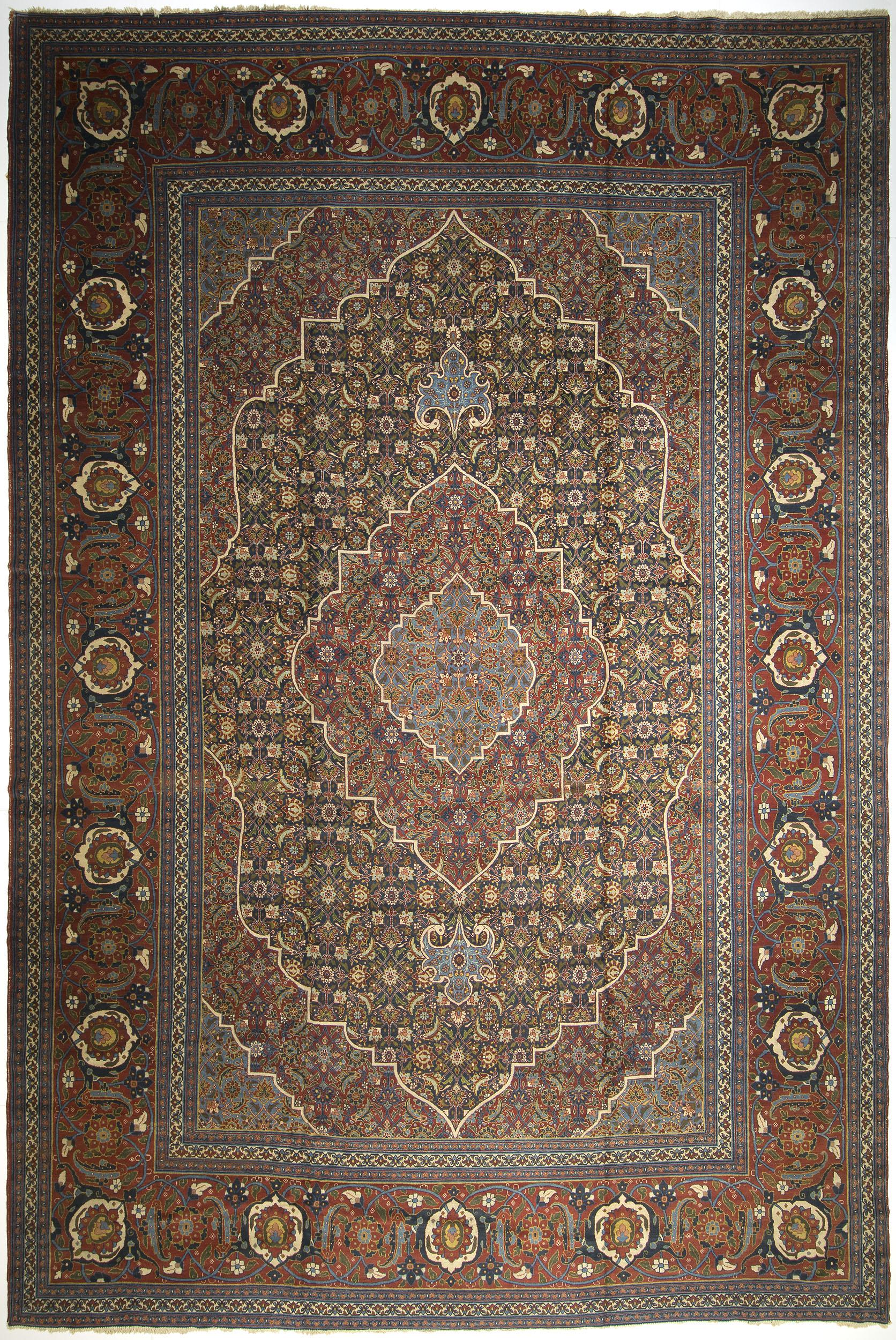 """Tabriz Carpet 22' 3"""" x 14' 10"""""""