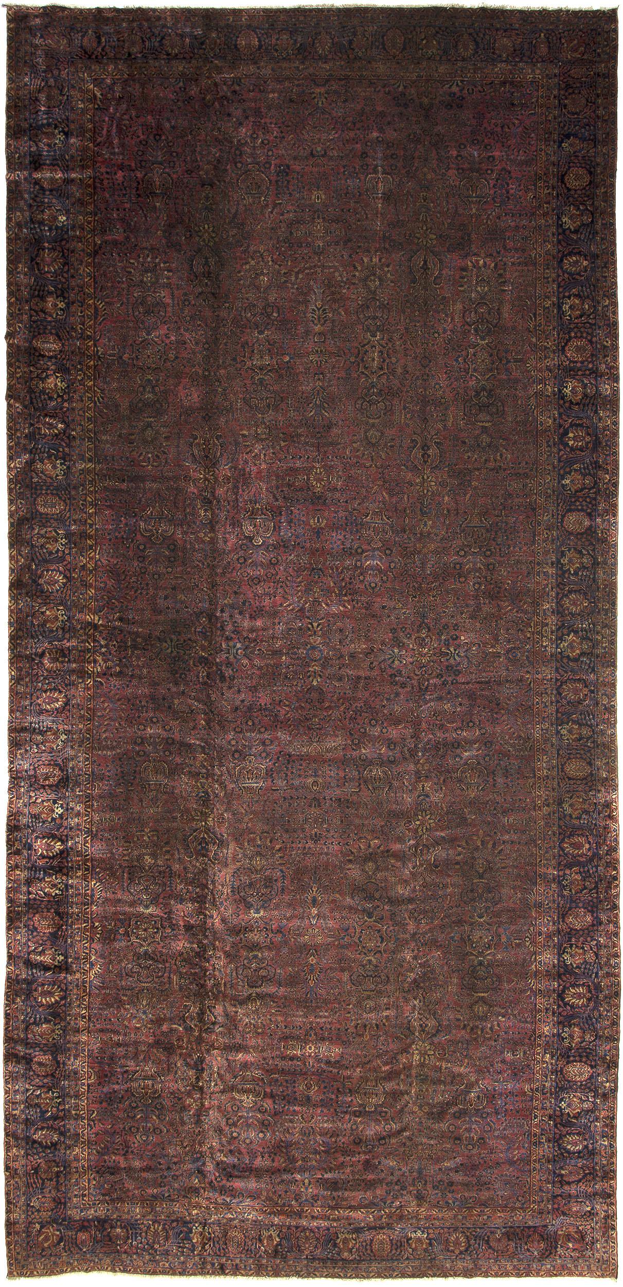 """Sarouk Carpet 28' 8"""" x 13' 3"""""""