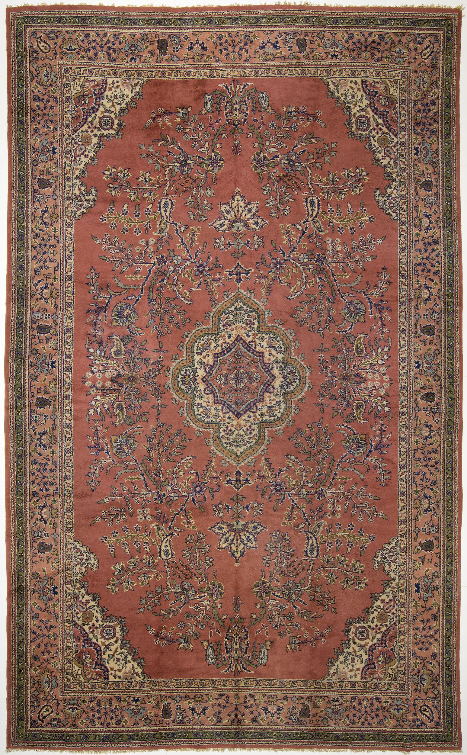 "Oushak-Style Carpet 17' 7"" x 10' 9"""