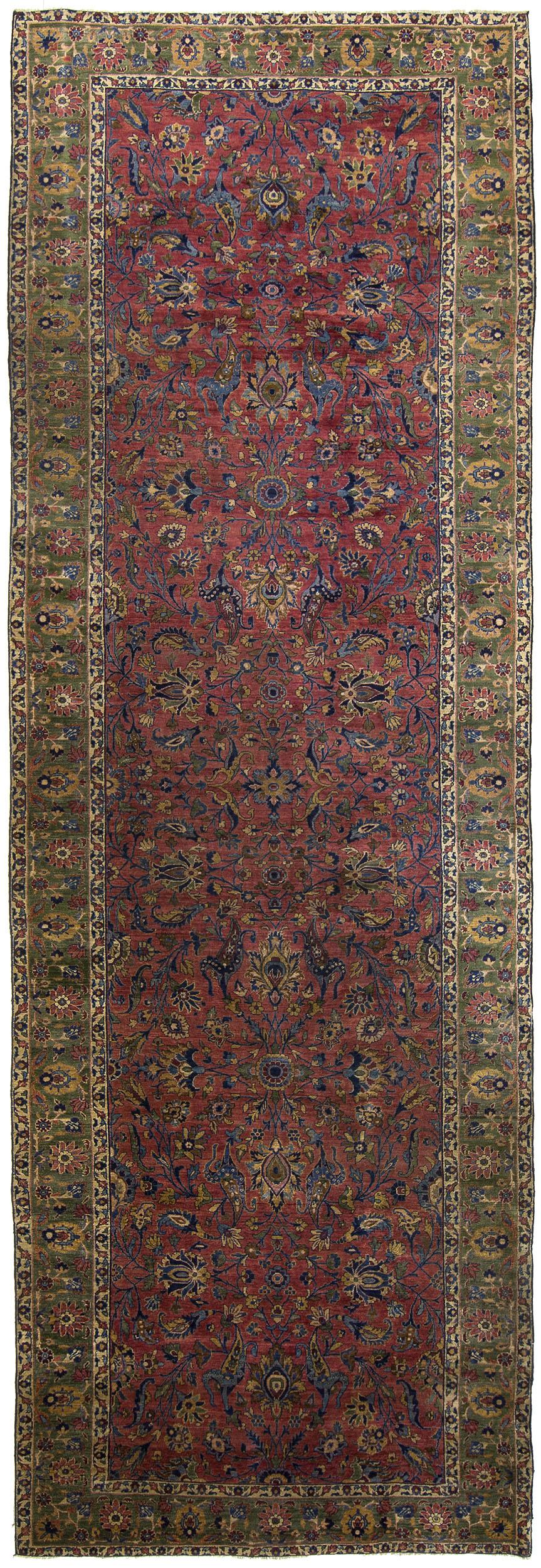 "Sarouk Gallery Carpet 18' 0"" x 6' 0"""
