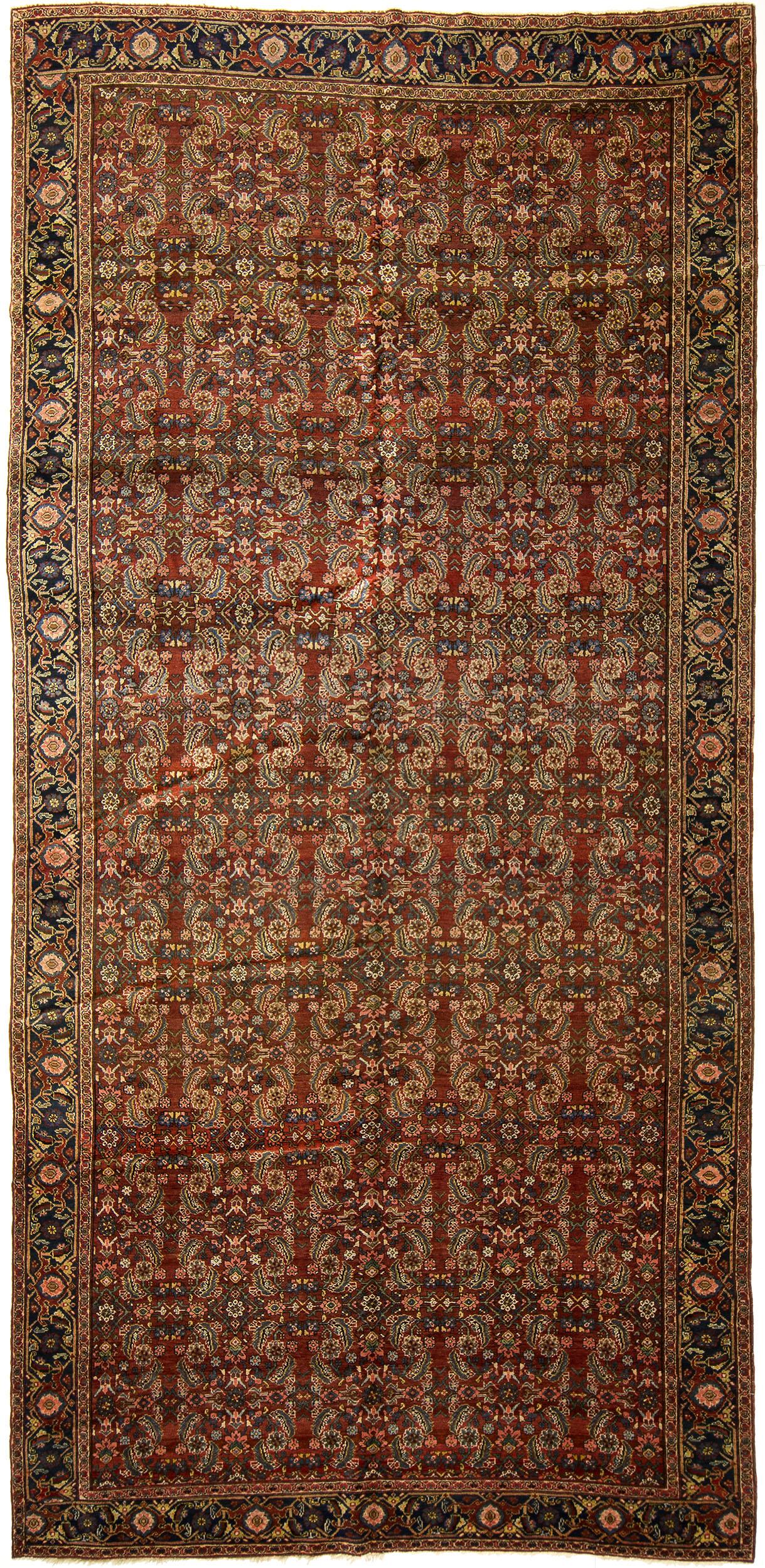 "Tabriz Gallery Carpet 15' 0"" x 7' 5"""