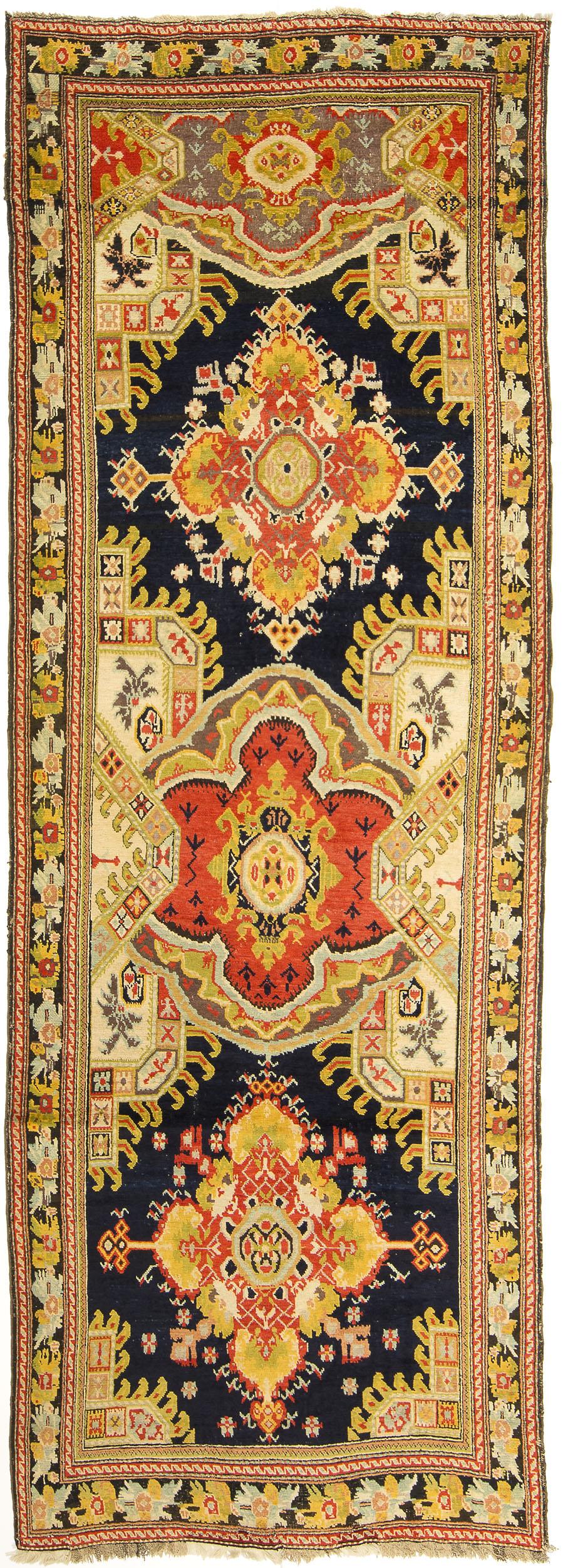 """Karabagh Gallery Carpet 12' 6"""" x 4' 5"""""""