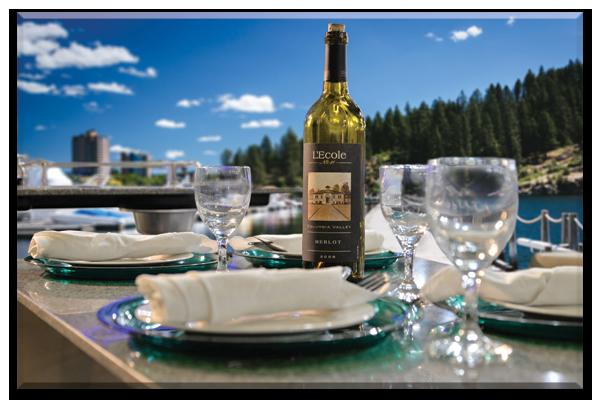 Boat Rental Lake Coeur d'Alene Dining Table