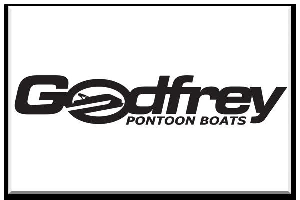 2016 Godfrey Boat Rental Lake Coeur d'Alene Logo White