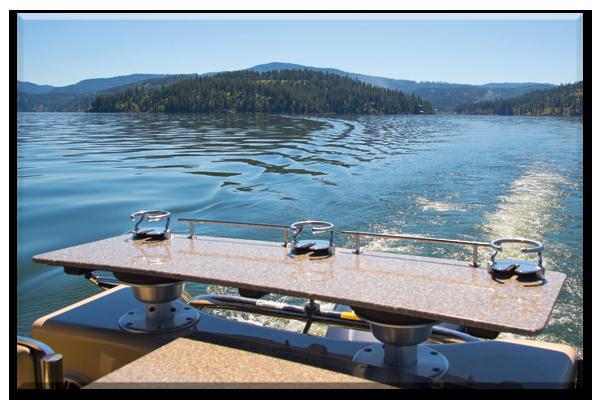 Luxury pontoon boat rental