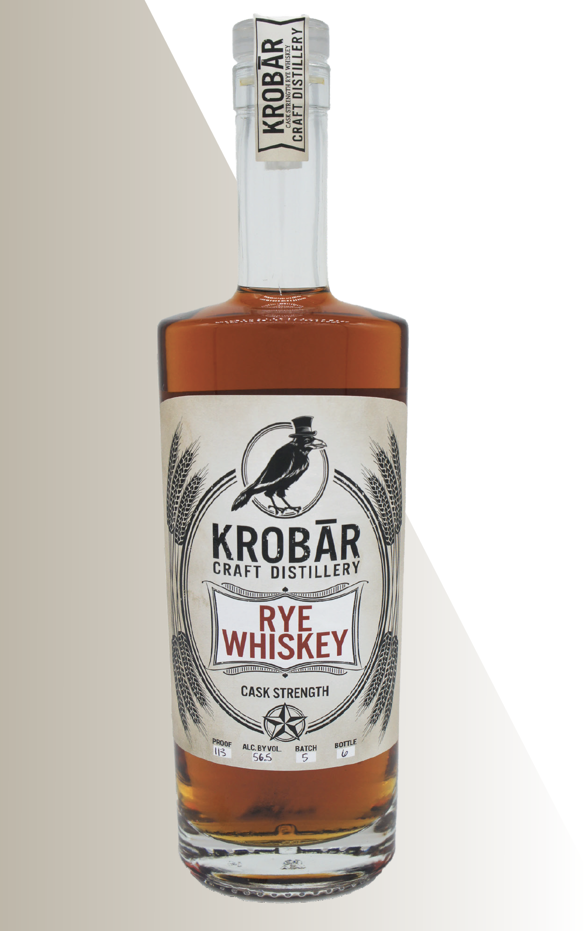 - This Cask Proof Whiskey boasts rich oak flavors that are sure to make your mouth tingle. Distilled once to 125 proof, we then place it in #3 and #4 char American Oak Barrels to rest for 2.5 years. Once the aging process had finished, we bottle the whiskey straight from the barrel without proofing it down.