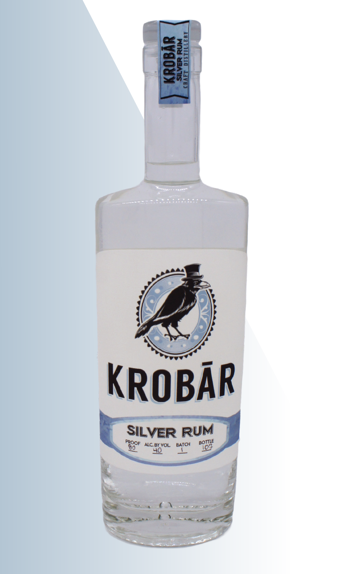 - KROBAR Silver RumThis unaged rum brings tropical paradise to the palette. Creamy coconut flavors fuse with bright pineapple, making for an unparalleled mojito, Mai Tai, or Pina Colada. 80 Proof / 40% ABV