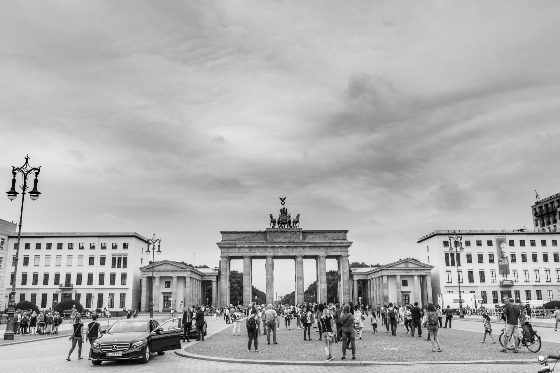 View from Unter den Linden.