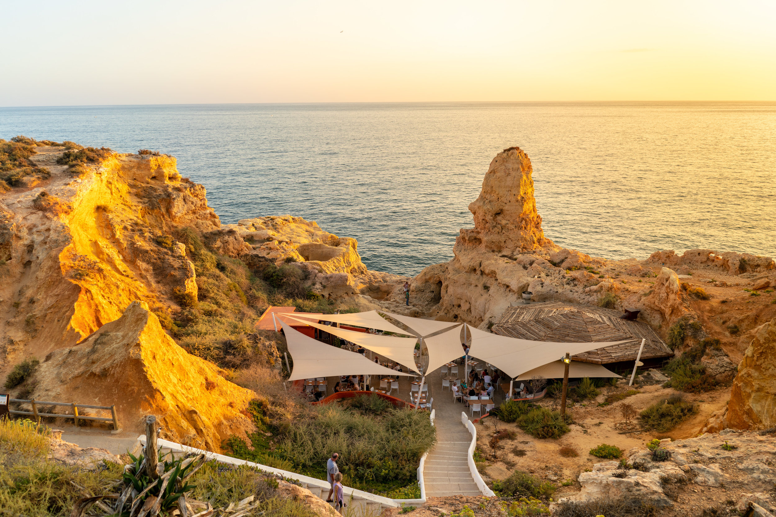 Boneca Bar - Entrance of a small cave behind it.