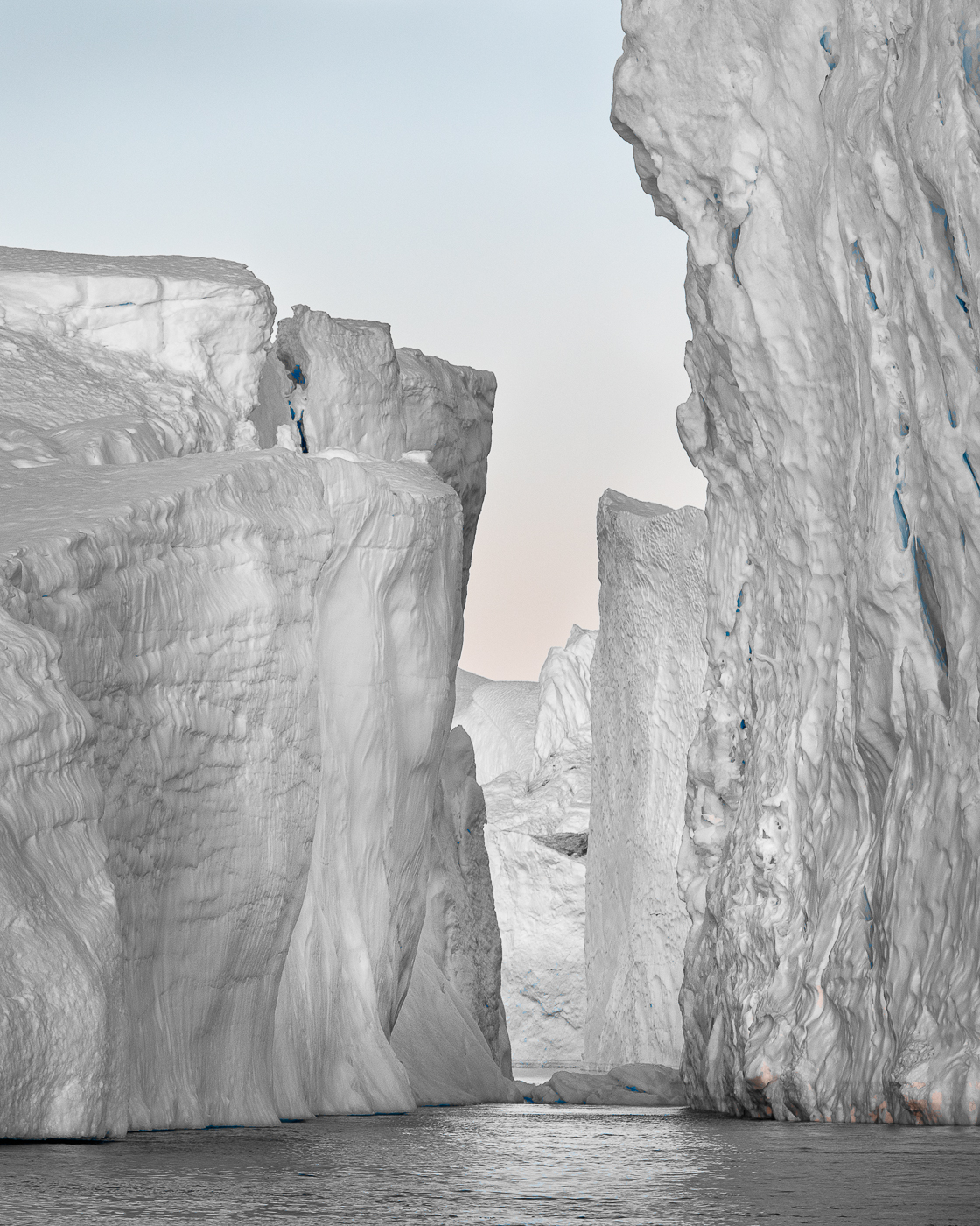 'Canyons of Ice' by Suzanne Trower CPAGB FRPS