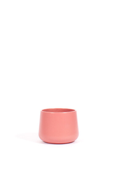 A178 PINK CERAMIC TABLE PLANTER