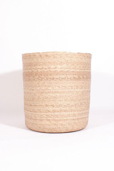 SIMPLE LARGE PALM BASKET