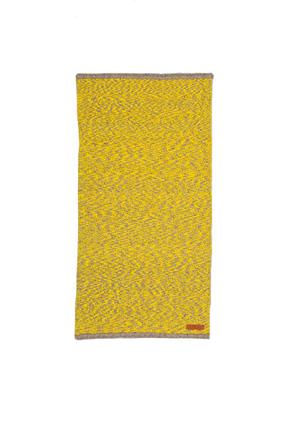 YELLOW SPECKLED WOOL RUGS