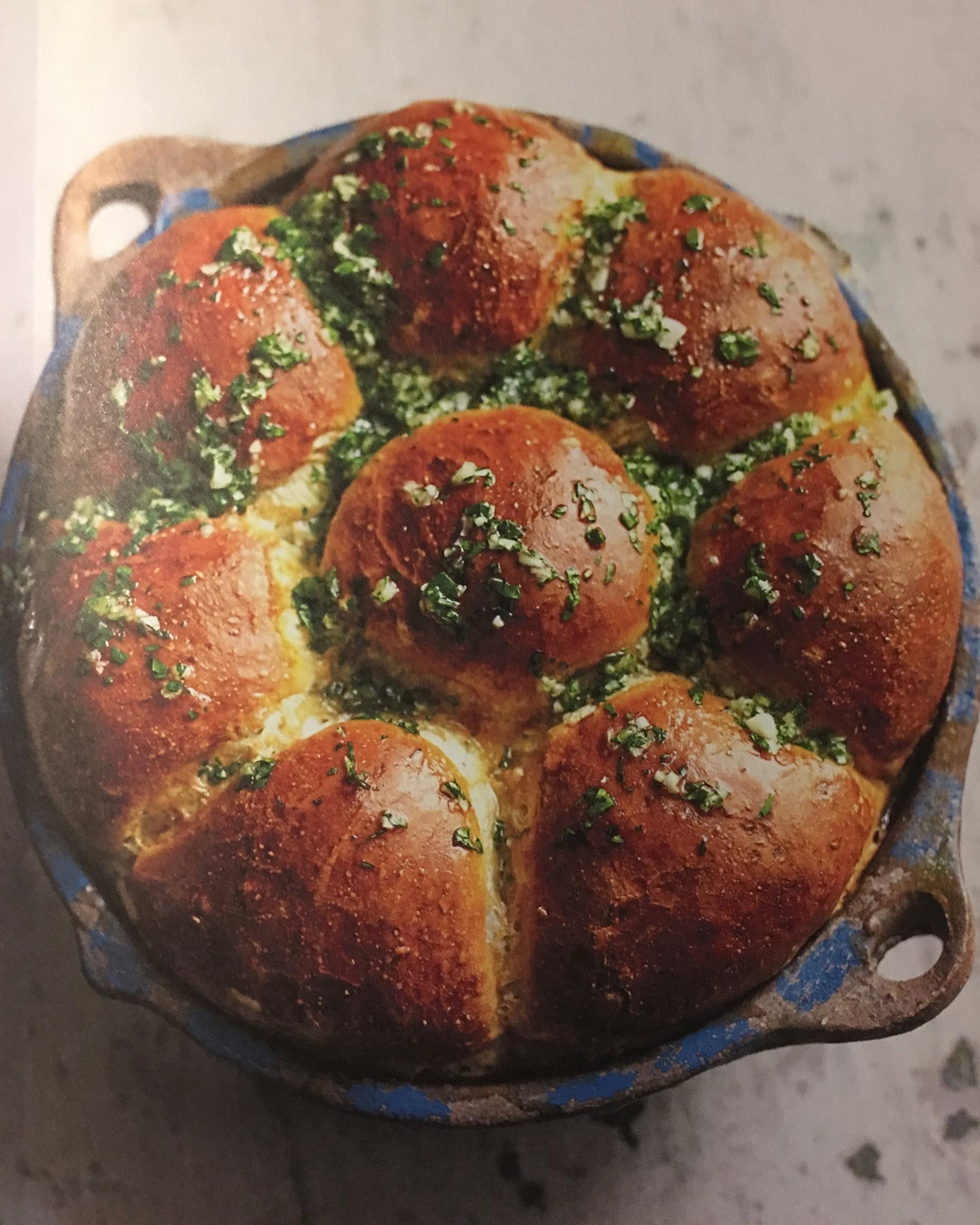 garlicky bread