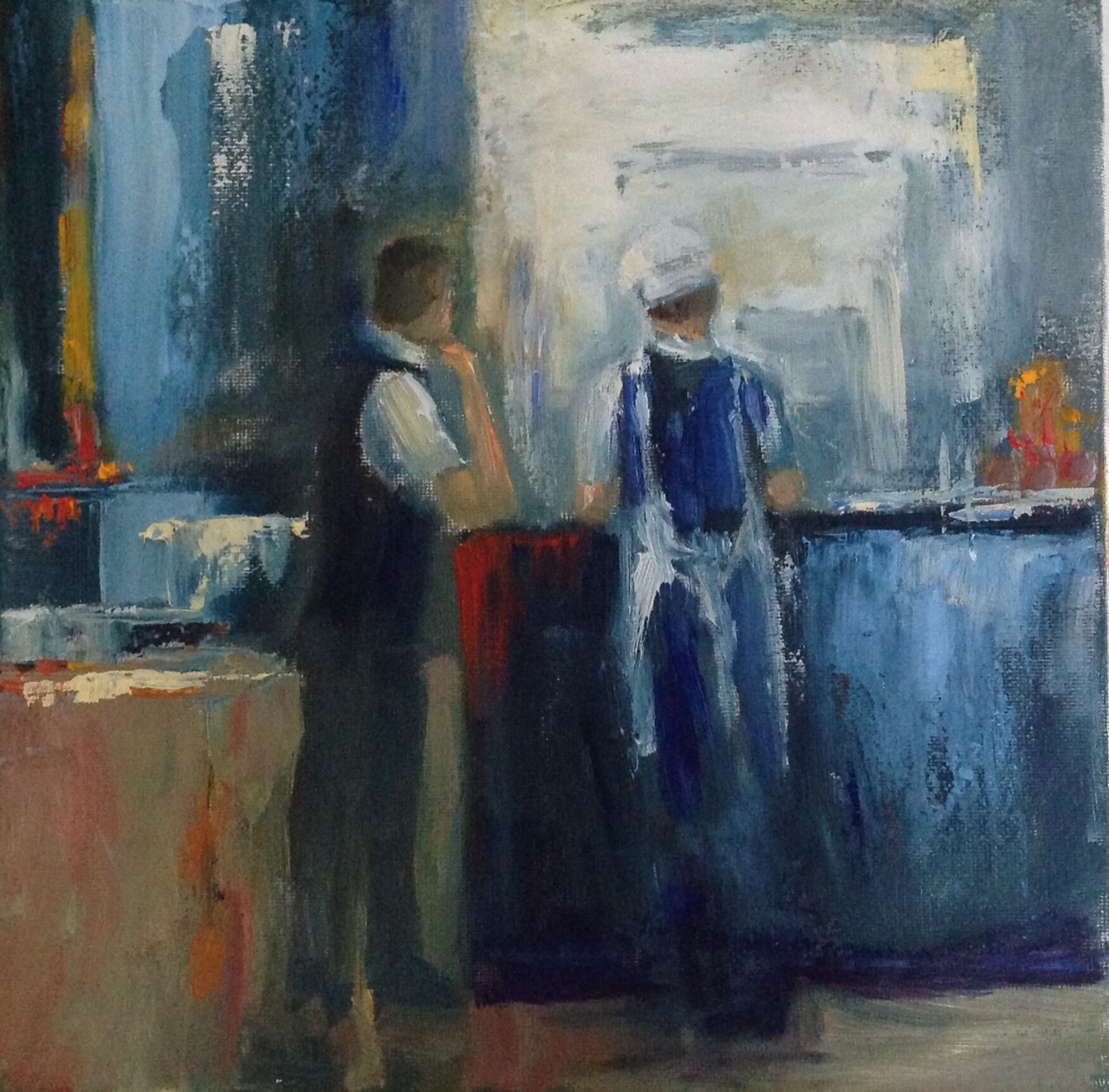 """Reservation Please 10""""x 10"""""""