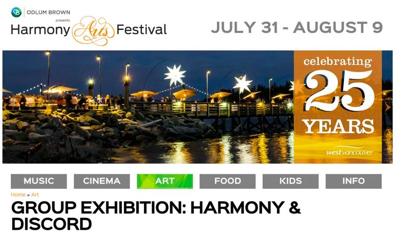 Harmony Arts Group Show 2015