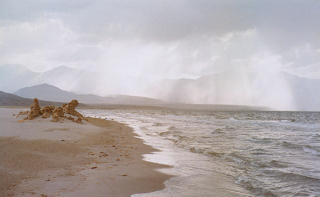 Mono Lake Storm. 1979.