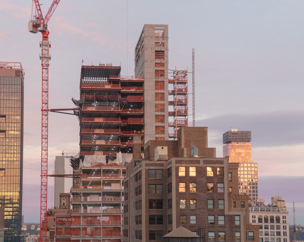 Rising High Rise at Dawn. Midtown. New York City. 2018. Canon EOS 5DS. R.