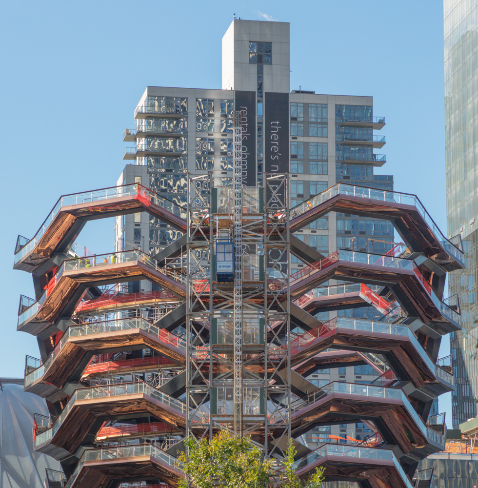 The Vessel,  Under Construction. New York City. 2018. Canon EOS 5DS. R.
