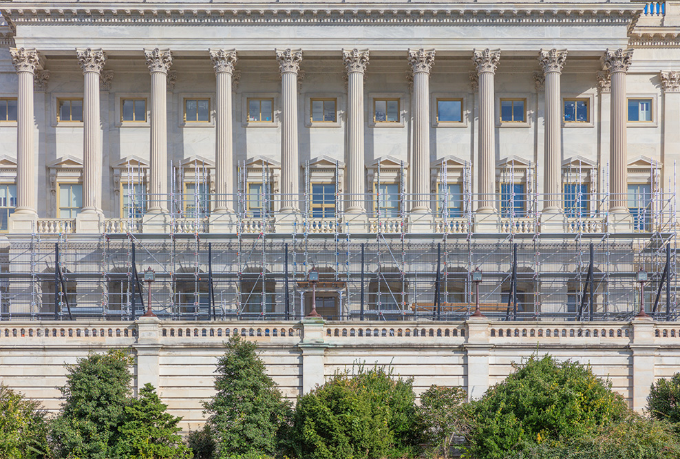 Under Repair? The United States House of Representatives. October 2018. Canon EOS 5DS R.