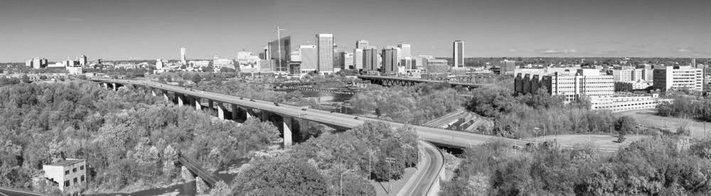 Richmond, VA Panoramic. 2018. Canon EOS 5DS R.