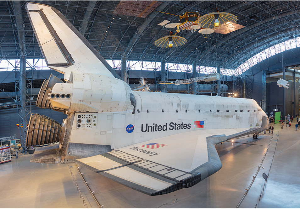 Space Shuttle Discovery. National Air and Space Museum Annex, Chantilly, VA. 2018. Canon EOS 5DS R