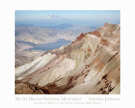 Mt. St. Helens Crater Poster