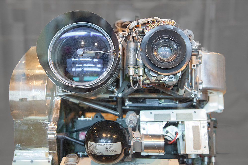 Lunar Orbiter Camera Assembly. Eastman House Museum. Photo by Stephen Johnson. 2012.