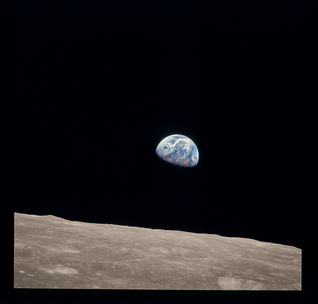 Earthrise. Apollo 8. 12/24/68