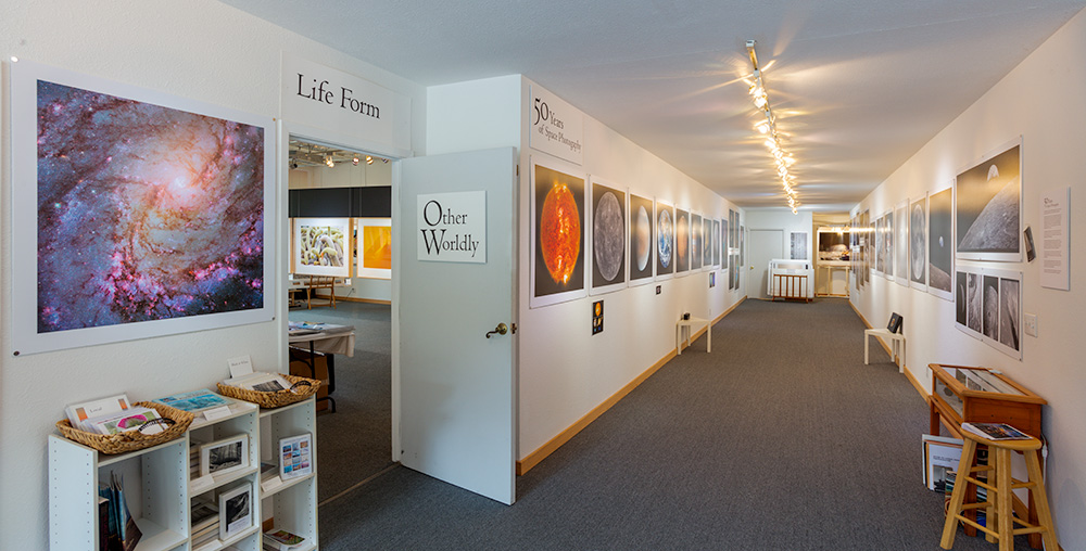 Other Worldly Exhibitions  at Stephen Johnson Photography. Pacifica Center for the Arts. 2019. Canon EOS 5DSr.