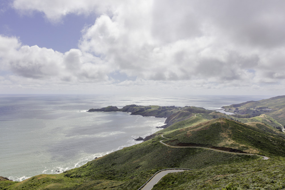 Point Bonita from Hawk Hill. Marin Headlands. 2019
