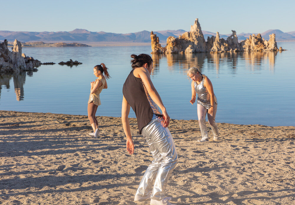 internatural 1. A dance/vocal perfromance at South Tufa, Mono Lake California. Performance produced by Forest Island Project.  forestislandproject.org   Canon EOS 5DSr. EF24-105mm f/4L IS II USM
