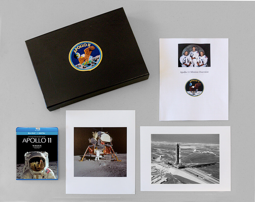 Apollo 11 Collectors Portfolio examples.