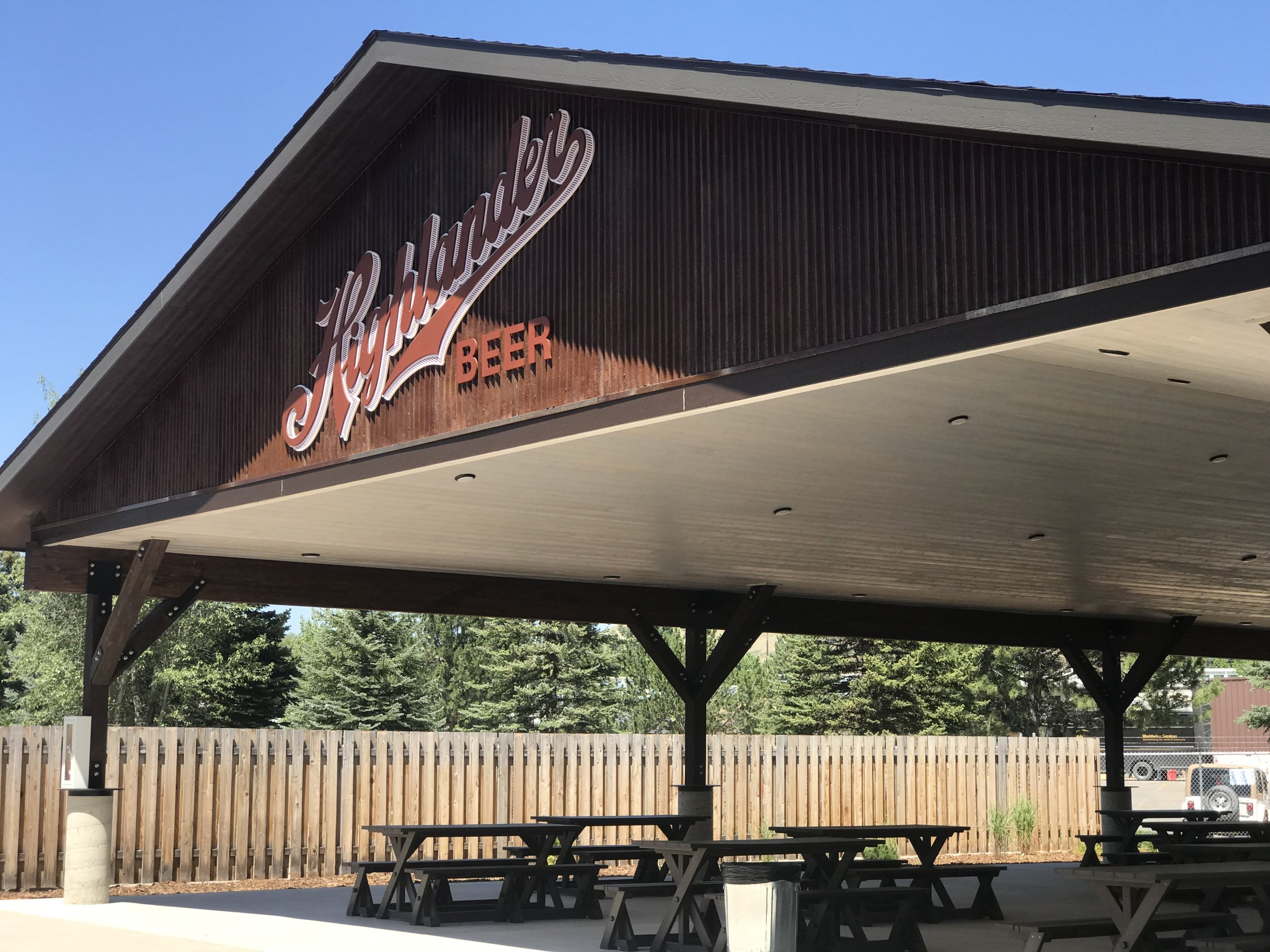 Welcome to the Highlander Pavilion - the perfect outdoor venue for your next bridal shower, retirement party, or corporate event