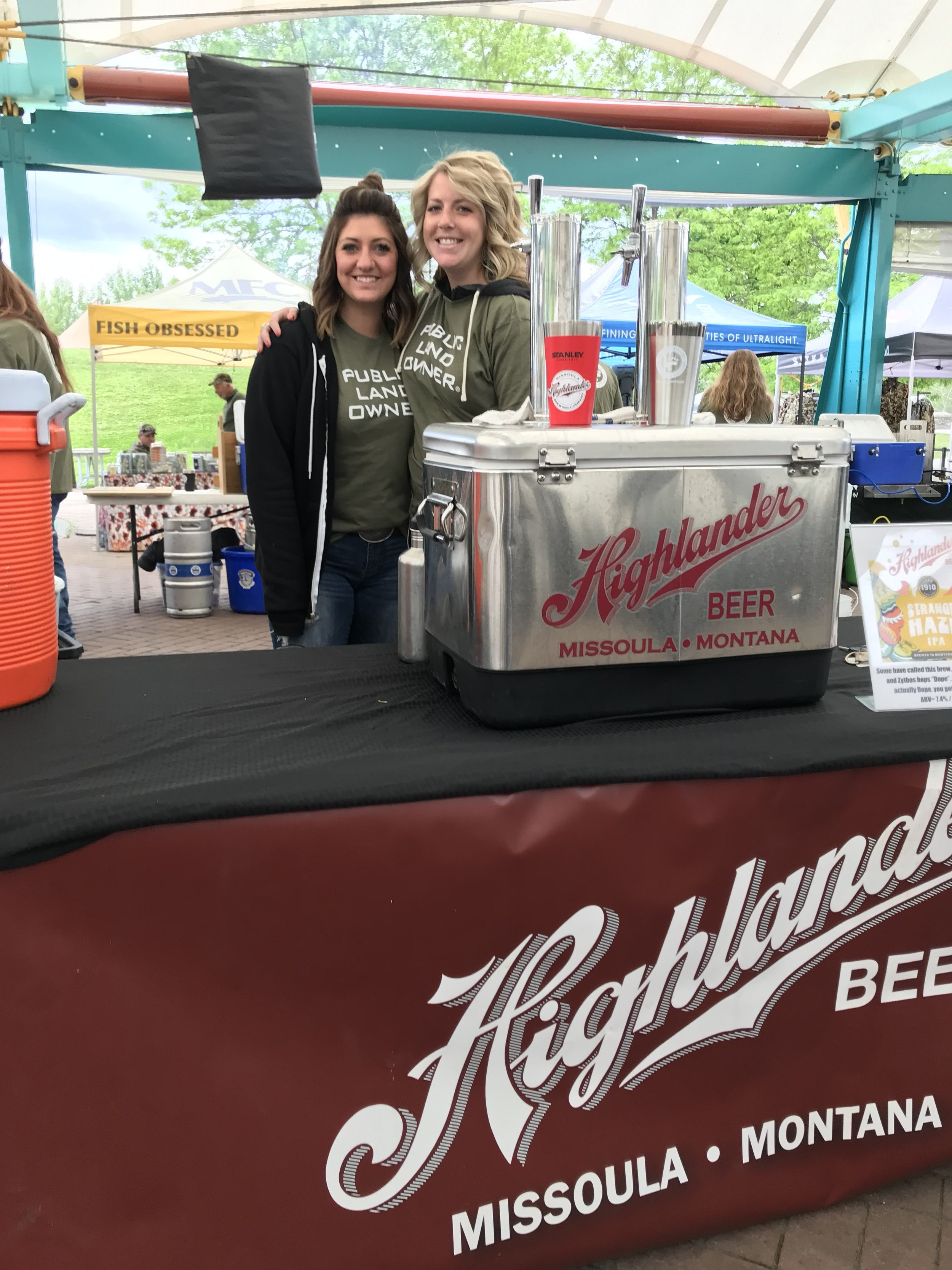 Madison and Hannah at Brew Fest.JPG