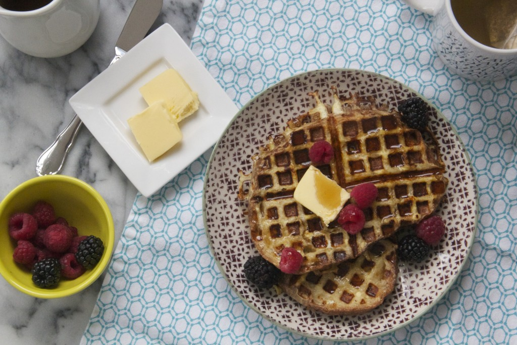 Waffled French Toast! (It totally waffles.)