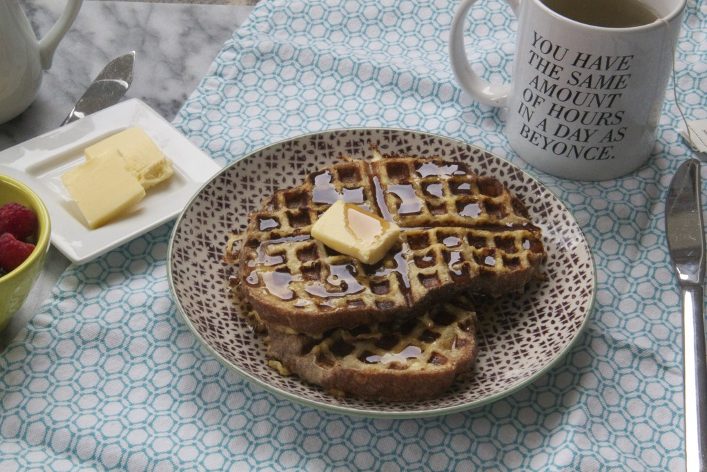 Waffled French Toast ! It's a thing and it's fantastic.