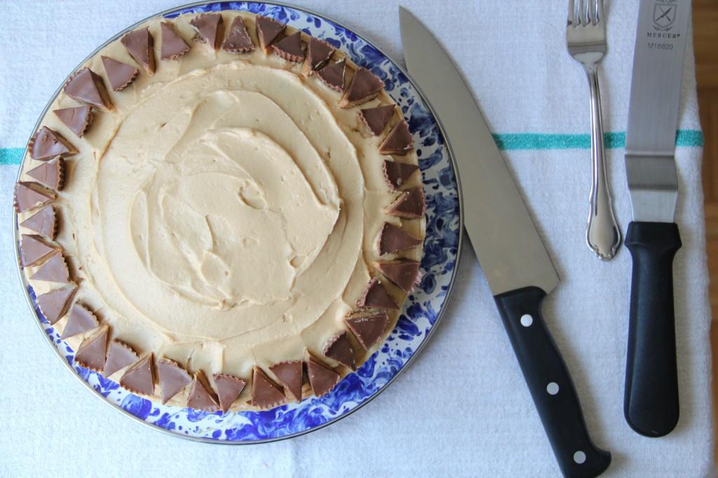 peanut butter buttercream!