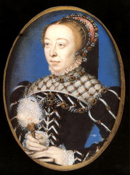 Catherine de Medici and her original cream puff?  ...Nah.