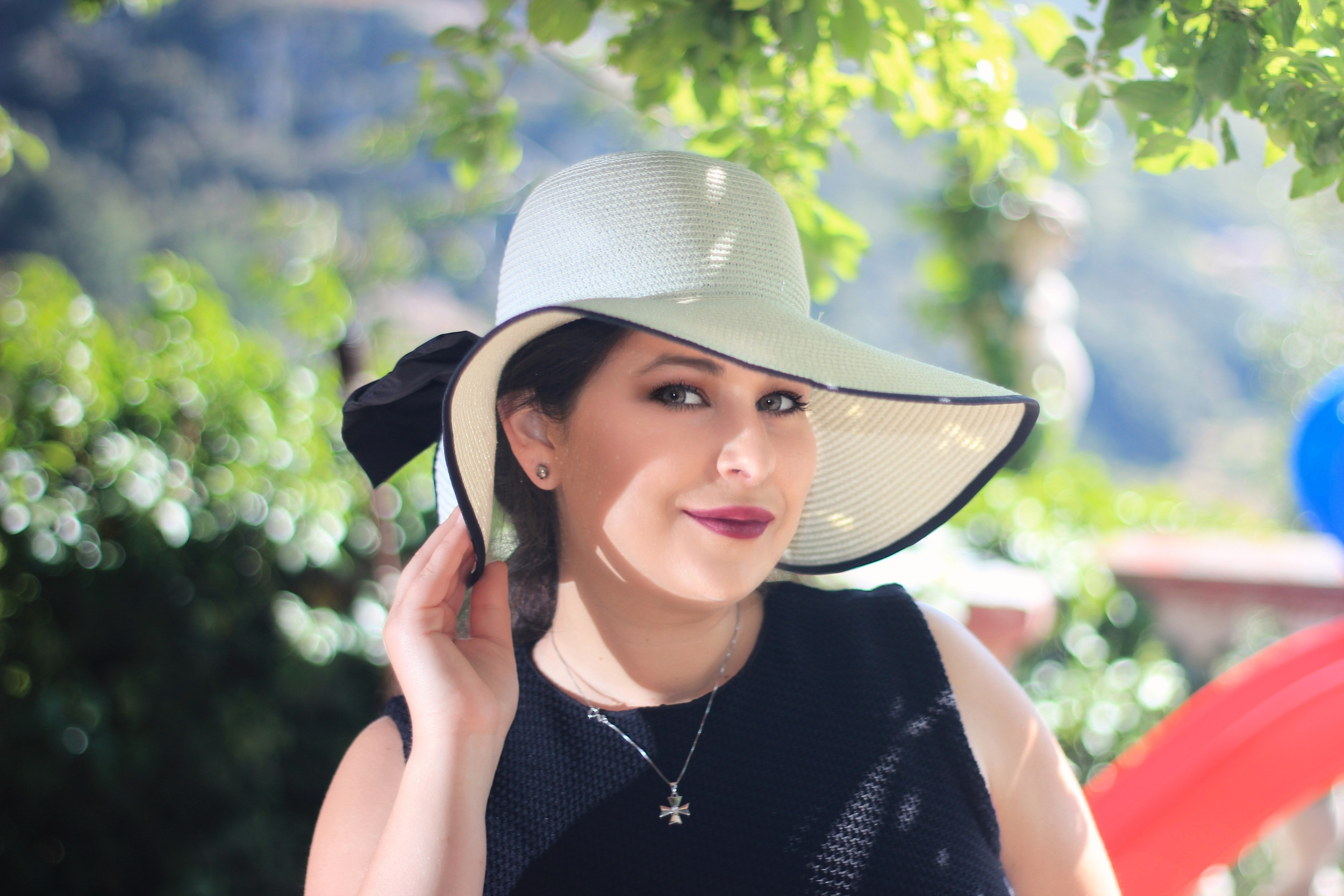 Alana Commercial Portrait wearing hat