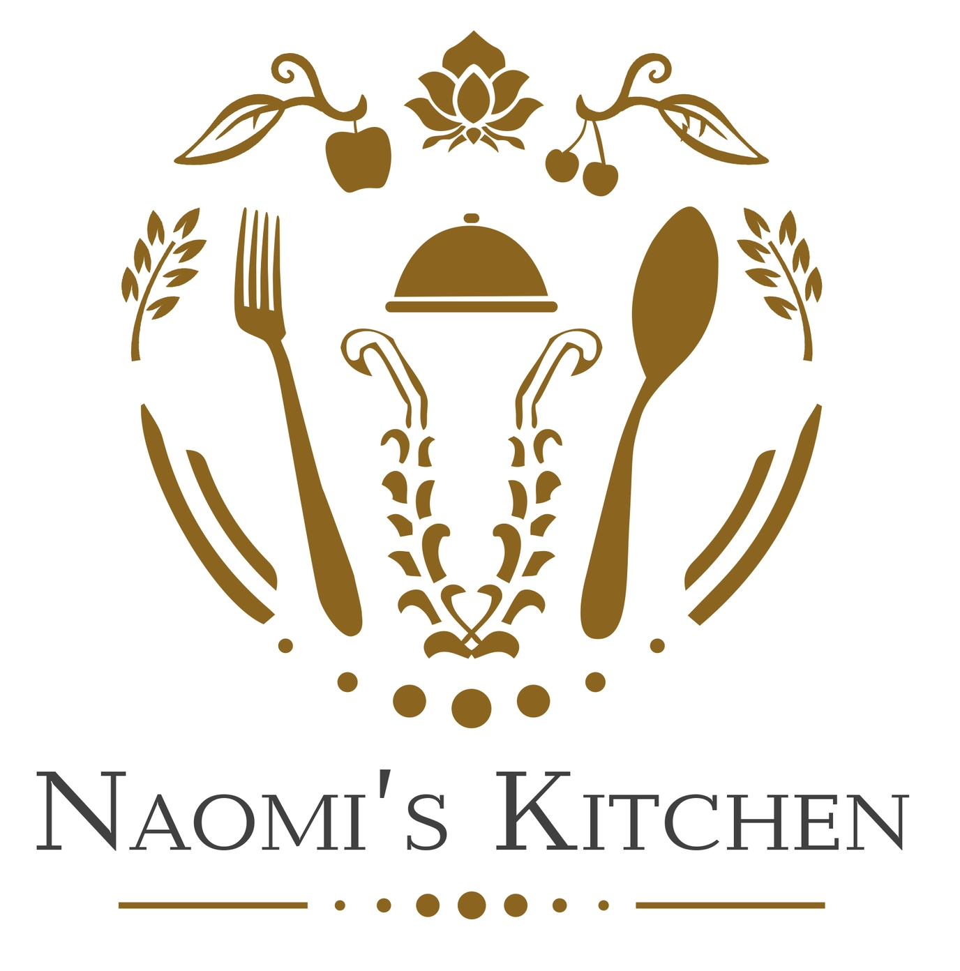 Naomi's kitchen Logo super foods