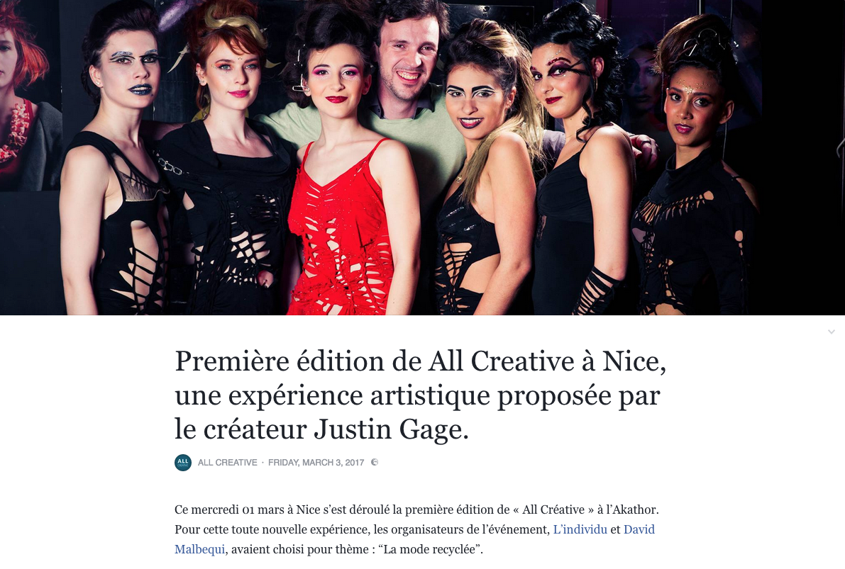 Laurette and co's blog about our all creative event in Nice on March 1st 2017 view full article  here
