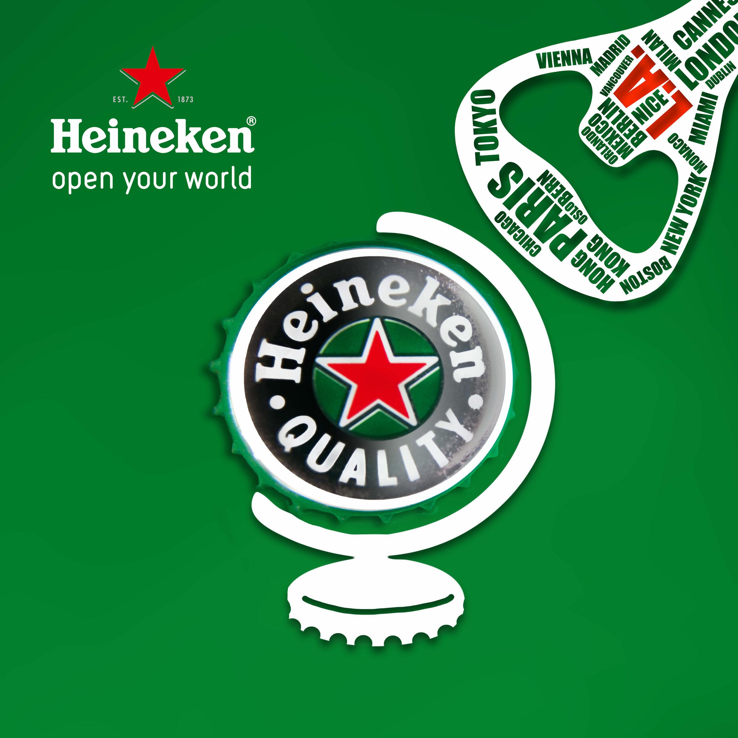 "Heineken ""open your world"" Campaign"