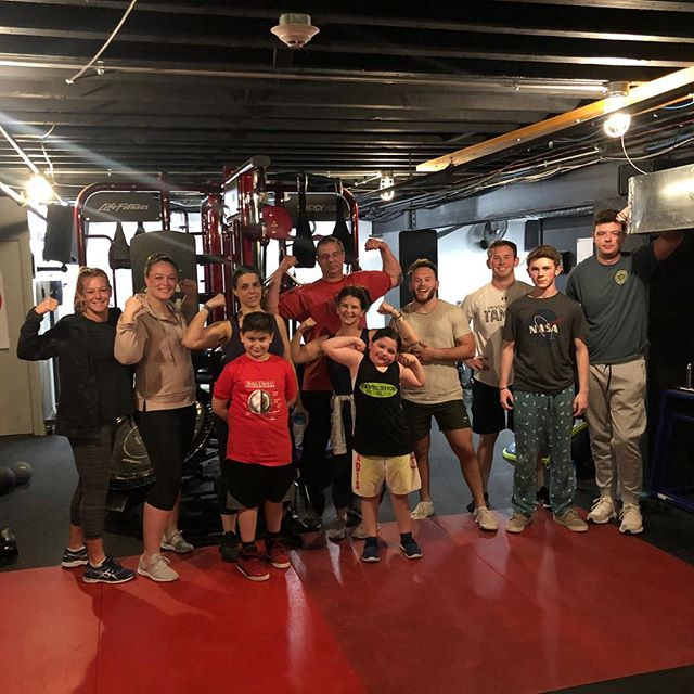 Happy birthday Val!!! It was an honor and a privilege to have your birthday at our facility. Thank you @fitness_vinnyd for teaching an awesome class! #fitness #birthdayparty #fun