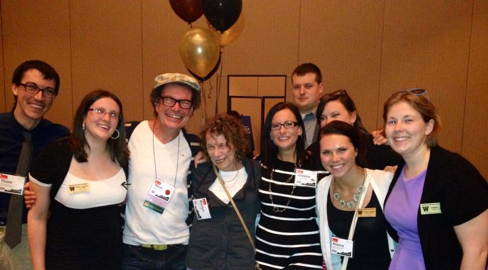 LAB Members with Kent Jonhson & Marliyn Gilbert at ABAI Chicago 2014.jpg