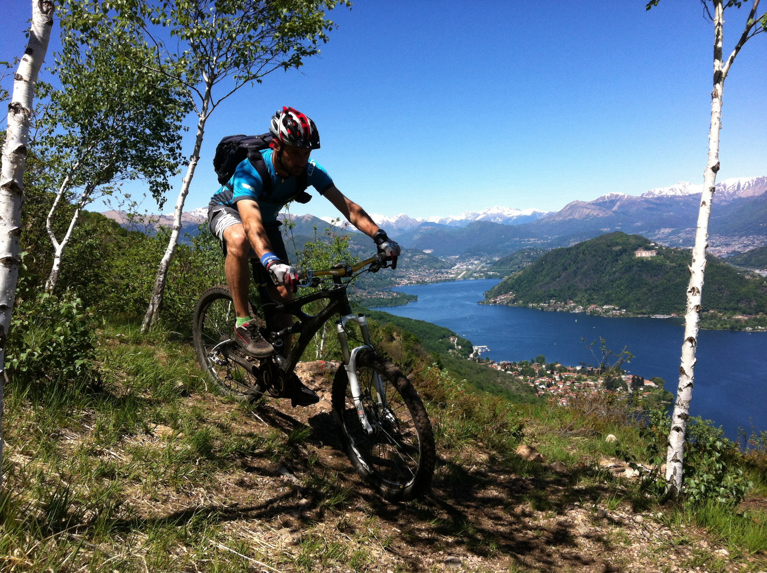Mtb Trail Como Lake Val Ceresio 1