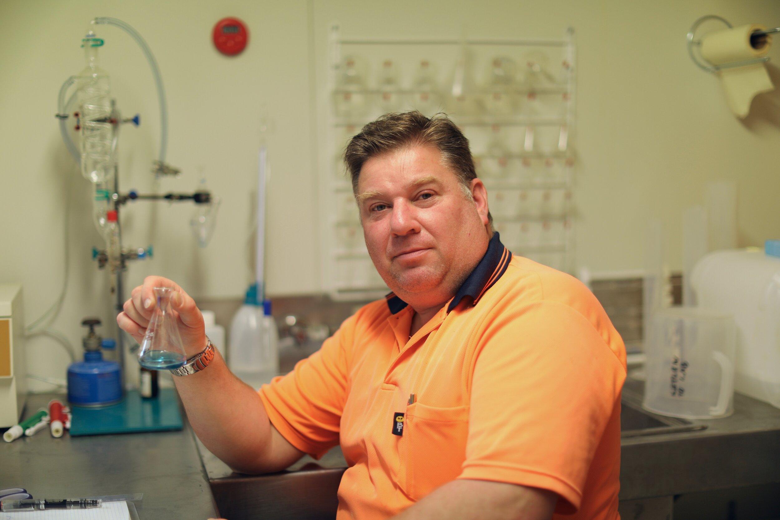 Norman Lever  Wine maker and cider boffin.
