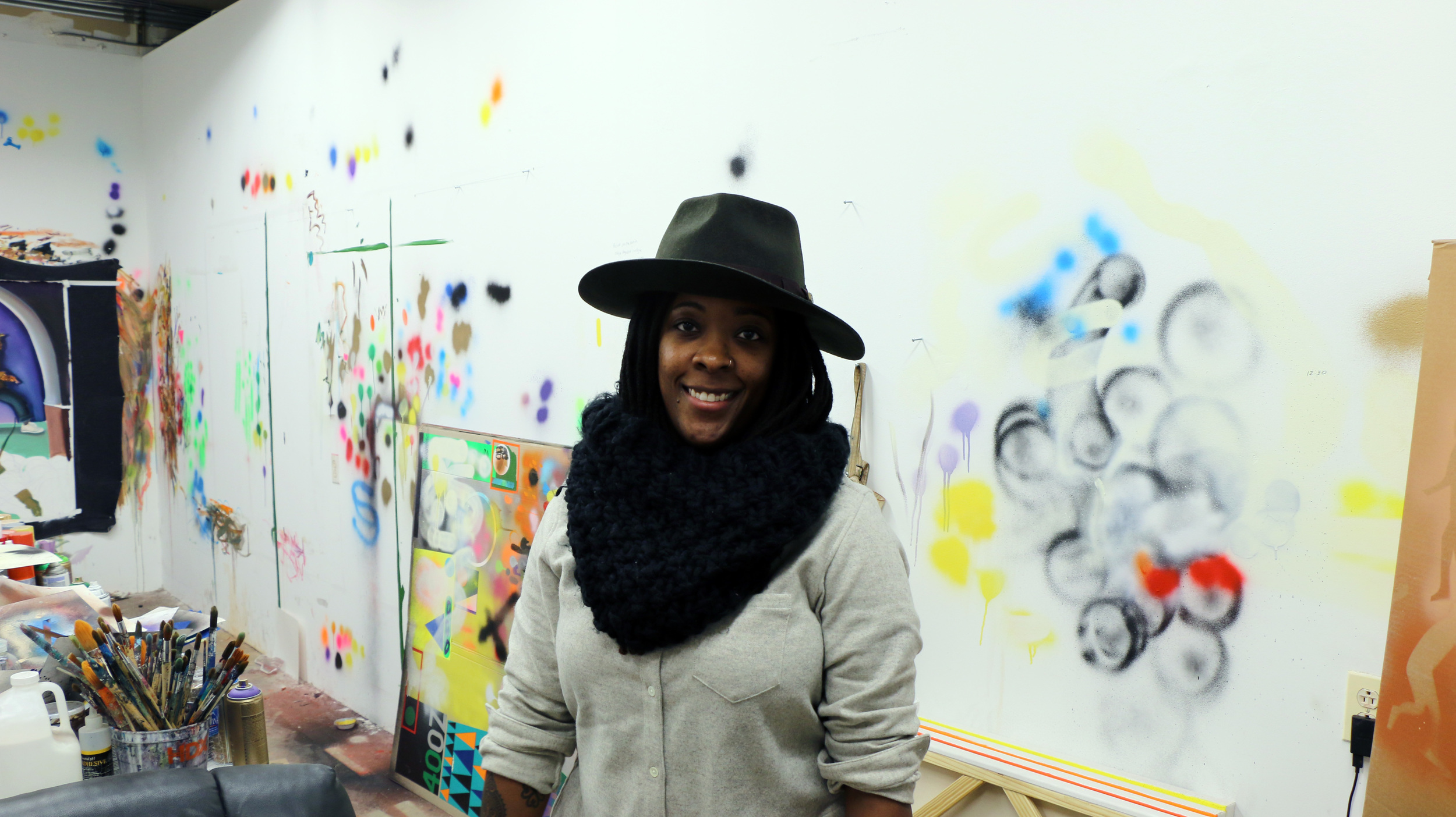 Nina Chanel Abney | Project For Empty Space Artist-in-Residence [at] Gateway Project Spaces